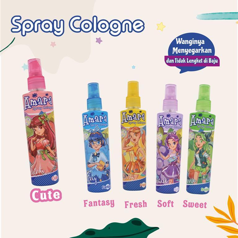 Spray Cologne